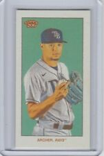2021 Topps T206 Wave 6 CHRIS ARCHER Tampa Bay Rays PIEDMONT BACK