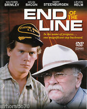 END OF THE LINE  Kevin Bacon & Wilford Brimley DVD PAL All Zone NEW