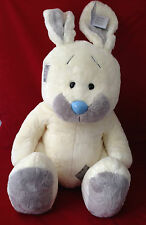 "TATTY TEDDY & MY BLUE NOSE FRIENDS 24"" JUMBO X LARGE RARE BLOSSOM RABBIT PLUSH"