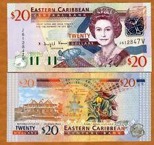Eastern East Caribbean $20 (2003) St. Vincent, P-44v, UNC