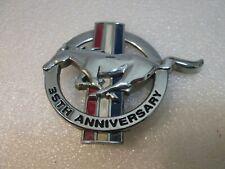 Tribar Emblem 1998-2004 Ford Mustang Polished Chrome Fuse Box Cover w// 35th Ann
