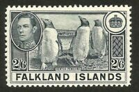 FALKLAND ISLANDS George VI 2/6 SG160 mnh