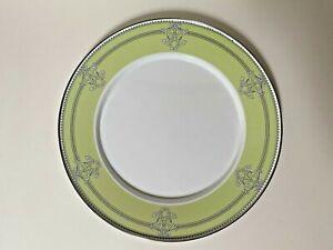 Golden Rabbit Enamelware Green Queen Charger Large Plate Round Serving Platter