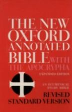 The New Oxford Annotated Bible with the Apocrypha, Revised Standard Version, ...