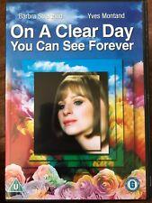 BARBRA STREISAND en un TRANSPARENTE Día You Can See Forever 1970 Musical Clásica