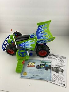 """Toy Story Signature Collection RC Wireless Remote Control Car Thinkway 14"""" w/Box"""