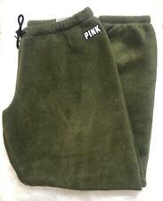 "Victoria's Secret PINK Fluffy ""Classic Pant"" Joggers - Size L - UK SELLER"