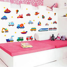 Various Car Wall Sticker Decal Home Decor Removeable Kids BedRoom PlayRoom WL