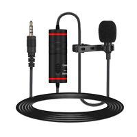 QTX 173.620 50Hz to 18kHz Omnidirectional Mini Condenser Tie Clip Microphone