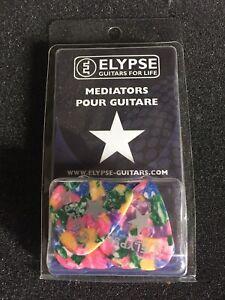Boîte De 12 Médiators Guitare Celluloïd 0,81mm ELYPSE