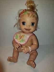 Baby Alive 2007 Learns to Potty Doll w/Headband (J5)