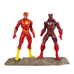 "McFarlane Toys DC Multiverse Earth -52 Batman (Red Death) and The Flash 7"" Ac..."