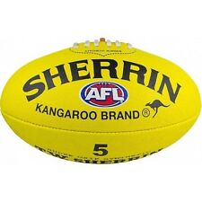 Sherrin Synthetic AFL Ball - Size 5