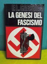 Carsten LA GENESI DEL FASCISMO - Baldini & Castoldi 1970
