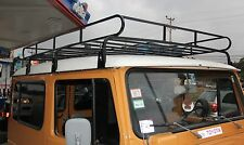 FJ40 , BJ40 , Long Safari Land Cruiser Roof Rack w/ Ladder and Mounting Hardware