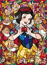 800 Piece Jigsaw Puzzle Disney Princess Snow White Stained Glass Art Hologram