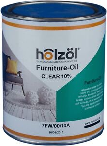 Holzol Furniture Oil - Clear