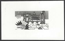 Monaco #1487 1985  Italia '85 Rome photographic proof