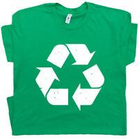 Recycle Symbol T Shirt Retro Logo Mens Womens Kids Karma 80s Vintage Graphic Tee