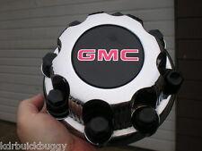 1999 - 2006 GMC Sierra 1500 2500 3500 Chrome OEM Center Cap P/N 15039488