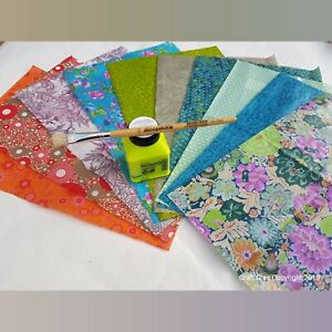 Decopatch Decoupage Starter Kit With 10 Papers, Glue, Brush, Instructions