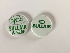 SULLAIR Pins/Badges/Buttons Vintage!! Rare!!