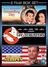 GROUNDHOG DAY / GHOSTBUSTERS / STRIPES - 3 DISC SET  REGION 4  BILL MURRAY