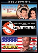 GROUNDHOG DAY / GHOSTBUSTERS / STRIPES - Bill Murray Region 4 (AUS) New & Sealed