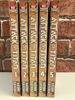 Attack on Titan Manga Volume 1 - 5 Set