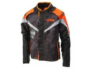 KTM Racetech enduro giacca moto maniche staccabili Arancio/Nero tg. S