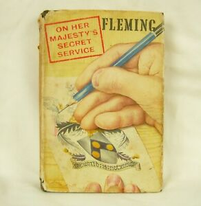 On Her Majesty's Secret Service - Ian Fleming Genuine 1st Edition 1963