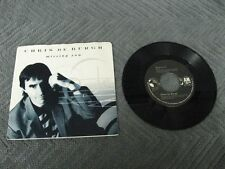 "Chris De Burgh missing you - 45 Record Vinyl Album 7"""