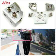 Car License Plate Relocator Bracket Holder Mount Support Angle Adjustable Newest