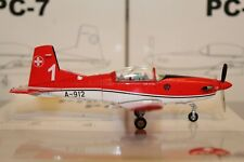 Pilatus PC-7 (A-912) Team / 1 Payerne Air14 , 1:72, Special Ed. for Switzerland