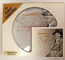 Sinatra '57 In Concert 24 Karat Gold Disc CD Limited Ed #06774 (1999, Artanis)