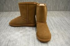 BearPaw Emma Youth 608Y Boots, Little Girls Size 2, Brown NEW