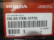 2003-2010 Honda Aquatrax Blue Tie Down Kit w/ Straps 09L00-YXB-10TDL 4 OEM New