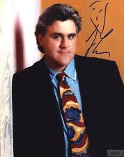 """JAY LENO In-Person Signed 8X10 Photo with a SuperStars Gallery """"SSG"""" COA - PROOF"""