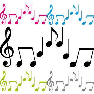 Noten Set M Violinschlüssel Violin Schlüssel Musik Auto Aufkleber Tattoo Deko