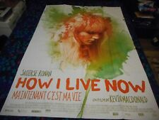 HOW I LIVE NOW - ORIGINAL HUGE FRENCH FOLDED POSTER - SAOIRSE RONAN