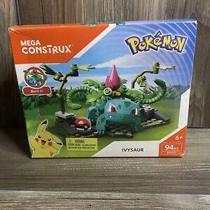 Mega Construx Pokemon Ivysaur DYF13 NEW & Sealed