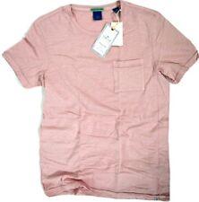 Scotch & Soda T-Shirt mit Brusttasche 136451 mauve alt rosa  S M L XL  NEU new