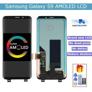 AMOLED LCD Display for Galaxy S9/S9 Plus With Frame Touch Screen Replacement