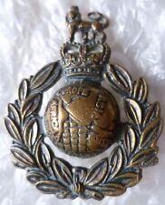 Badge- Royal Marines Cap Badge QC BRONZE