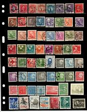 Small used stamps collection of Sweden as per scan