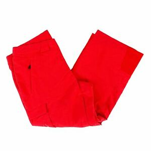NEW Spyder 503070 Men's Troublemaker Pants in Red 100% Polyester - XXL - S