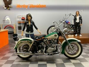 Franklin Mint 1958 Harley Davidson Duo-Glide Motorcycle 1/10 Scale