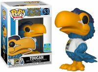 Funko Pop! Ad Icons: Toucan SDCC 2019 Exclusive san diego comic + Pop Protector