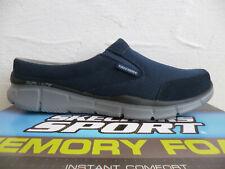 Skechers Clogs Sabot Pantolette Pantoletten blau navy 51519 NEU!