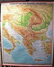 Scheda crocifissi Muro Carta Danubio adriatico mediterraneo Grecia Turchia 178x217 1972